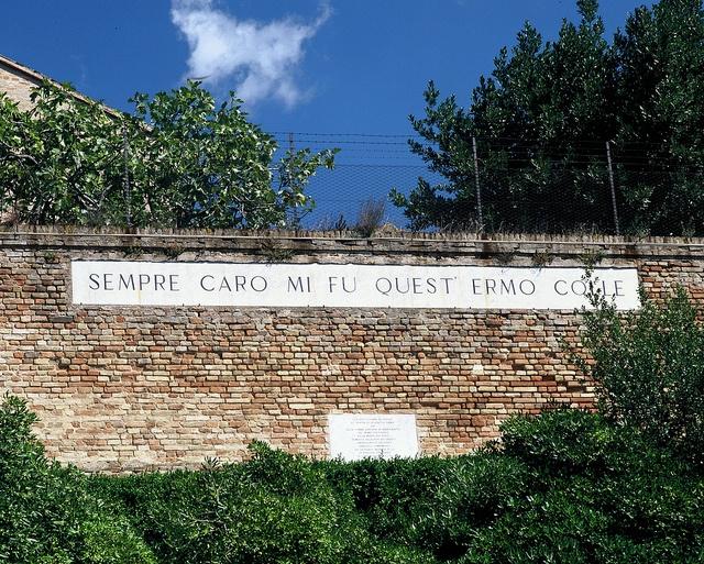 Recanati, Leopardi's hill of infinity - Italy