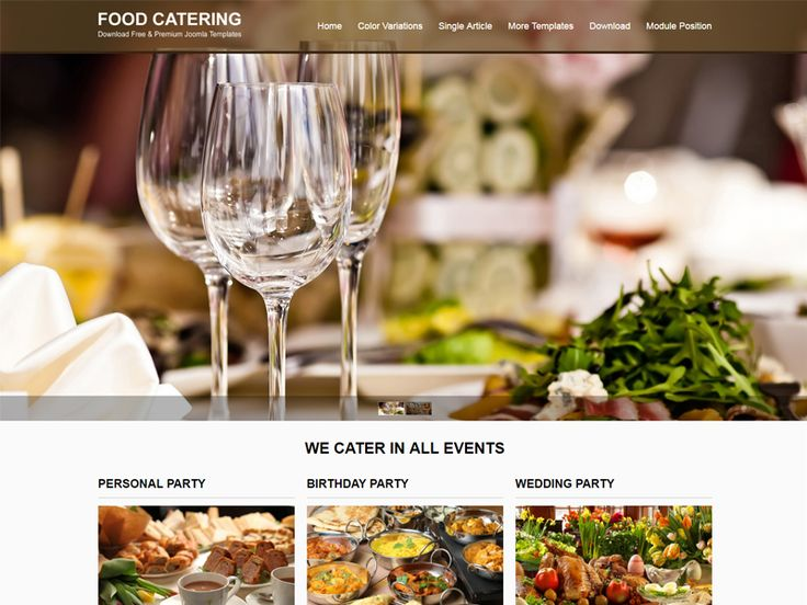 If you are planning to build a food website, JSR Food is a perfect choice for you. This template is a vivid and modern free Joomla template for food. The clean interface of this template will be attractive to any kind of audience.