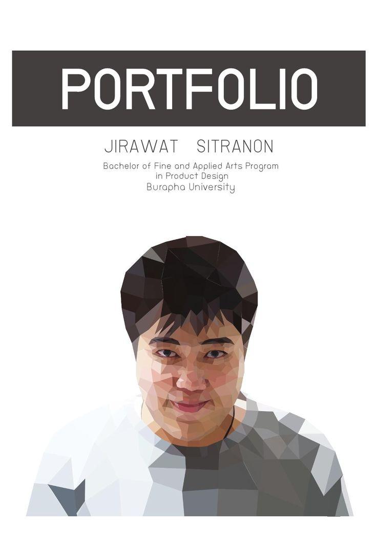 Jirawat's portfolio portfolio of Jirawat Sitranon Product design Burapha University