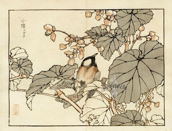 Японские антикварные открытки