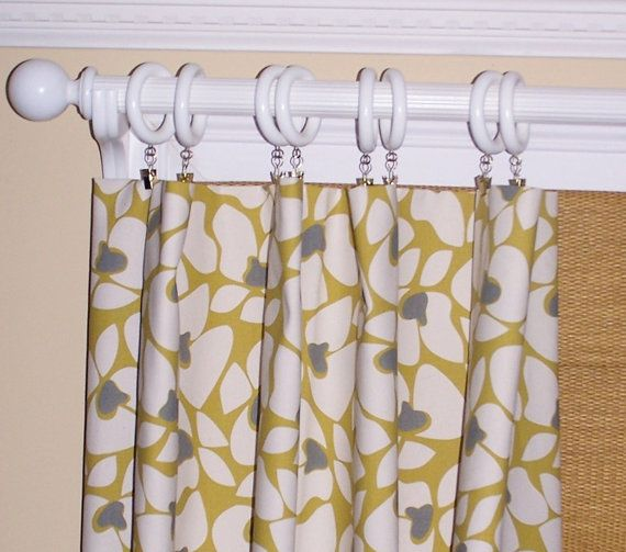 Kitchen Curtains Yellow And Gray: 51 Best Images About Gray And Cream Family Room Ideas On