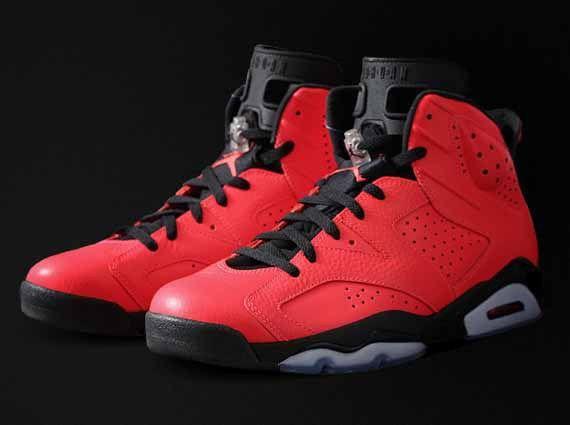 Air Jordan 6 Toro Infrared 23 Authentic Price 89 90 Air Jordan Shoes Michael Jordan Shoes Air Jordans Red And Black Shoes Sneakers Men Fashion