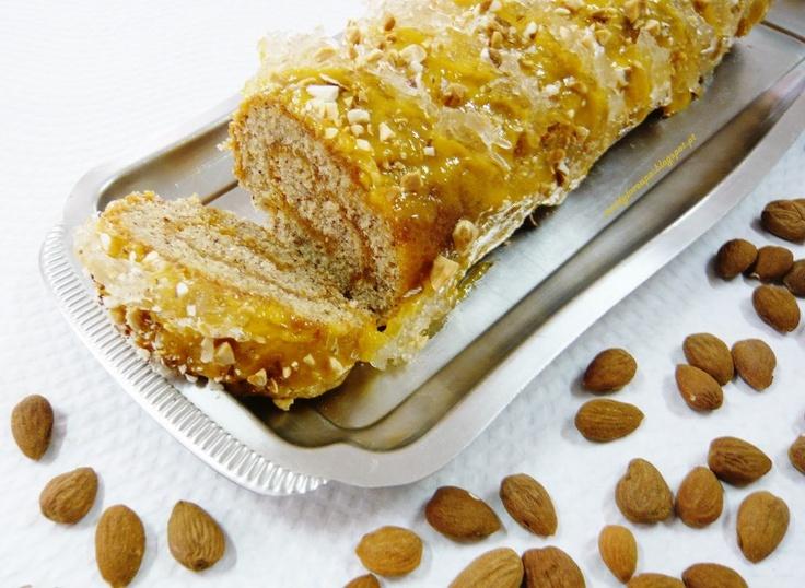 Torta de Amêndoa - Receitas Portuguesas