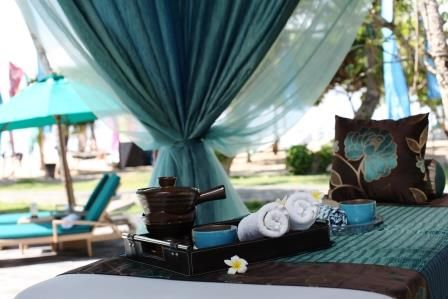 Bale for massages Aroma Spa Retreat Sanur Bali