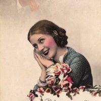 Free Vintage Clip Art - Romantic Ballerinas - The Graphics Fairy