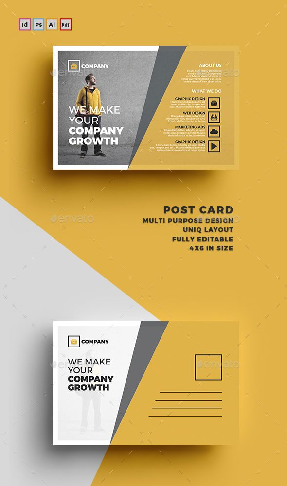 213 best Card \ Invite Design Template images on Pinterest - postcard template