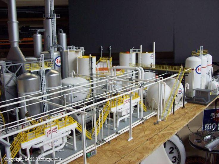 scale model refinery - Google Search