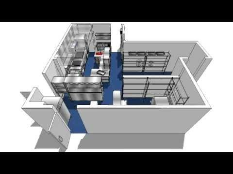 A Commercial Kitchen Design 3D walk-through brought to you by Prestige Catering Equipment. Animated modelling allows us to manage the optimum use of each kit...