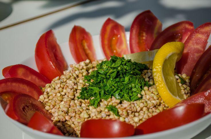salată de hrișcă