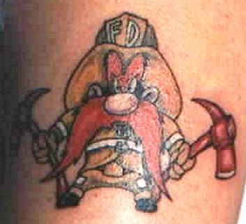 Strike the Box - fire fighter tattoos & more