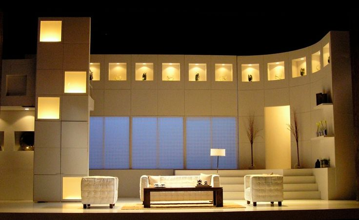 The Clean House. The Cleveland Playhouse. Scenic design by Andromache Chalfant.