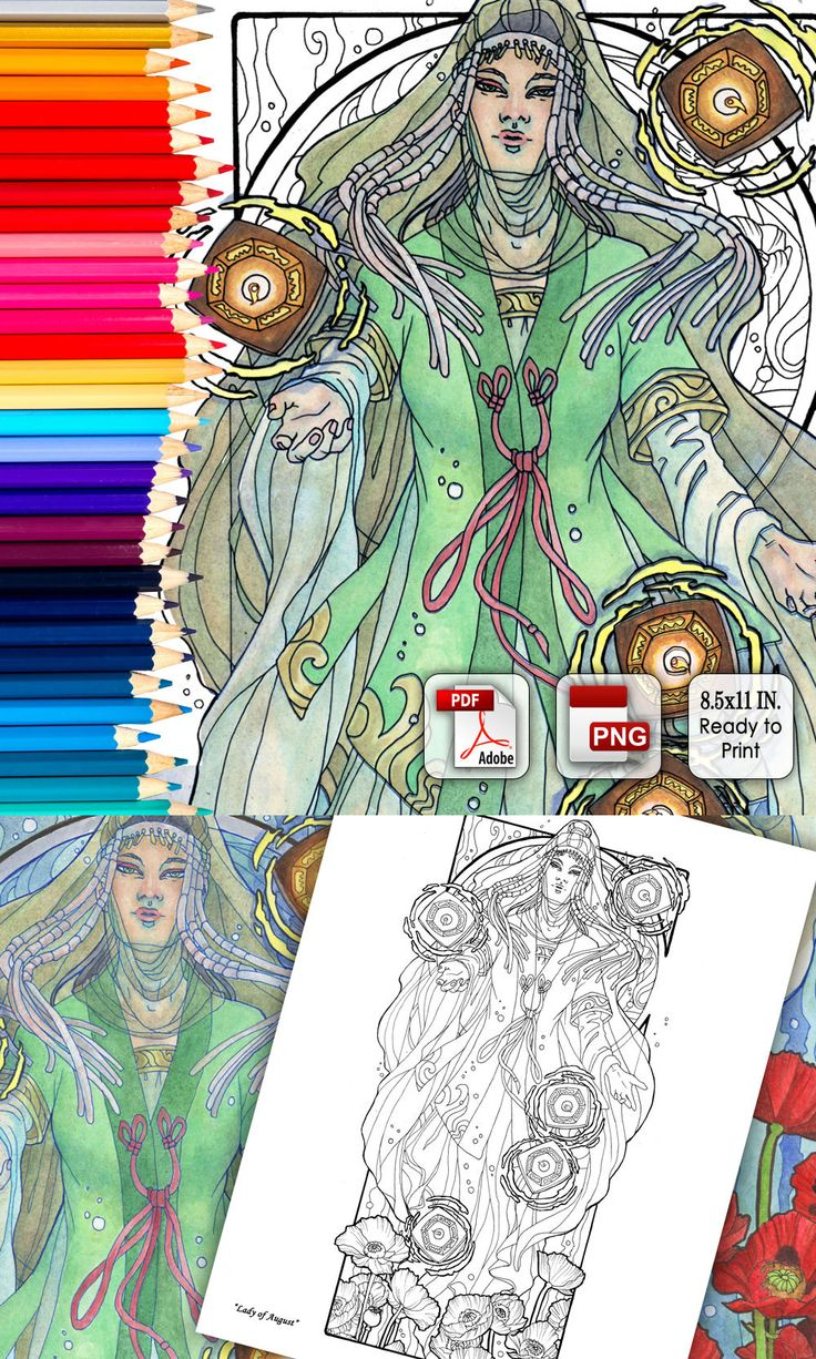 48 best Coloring Books and Pages by Angela R. Sasser images on ...
