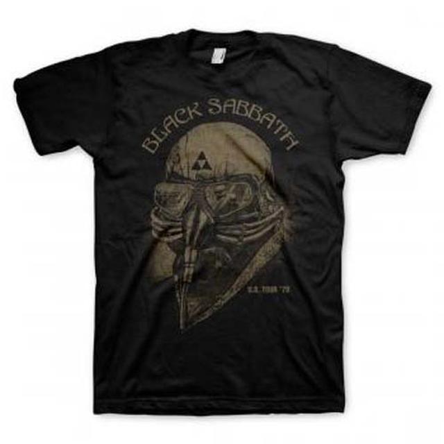 Black Sabbath T Shirt   Black Sabbath U.S. Tour 1978 T-Shirt