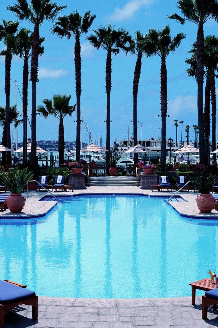 Go for a morning swin in the hotel's pool before head to nearby Venice Beach | The Ritz-Carlton, Marina del Rey (California) - Jetsetter