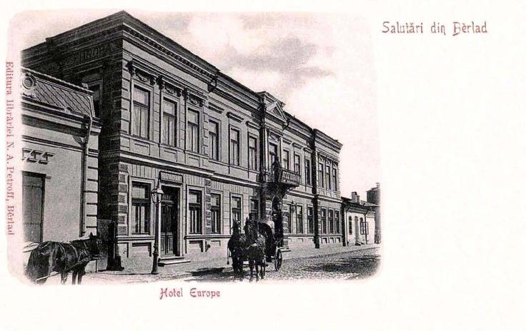 Barlad - Hotel Europe - antebelica
