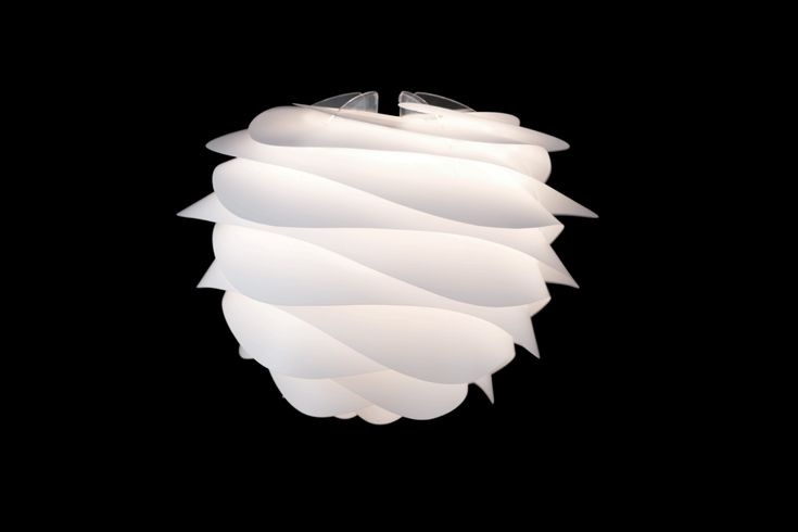 The Vita Carmina small pendant light shade reminds us of soft whipped cream, its perfect flowing white folds are effortlessly stylish. It's the ideal accessory to add interest to an otherwise fairy plain décor without adding too much fuss.