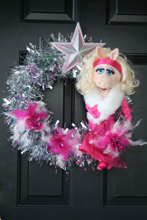 Miss Piggy Muppets Movie Most Wanted Party by SparkleDayDesign, $95.00