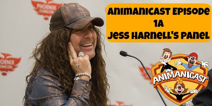 Animanicast #1a: Jess Harnell at Panel Phoenix Comicon Part 1