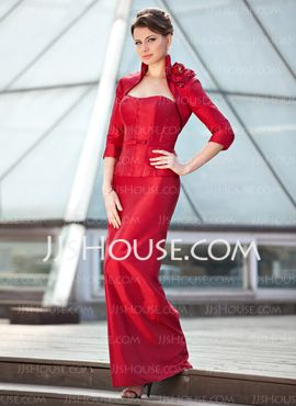 3/4-Length Sleeve Taffeta Special Occasion Wrap (013024282) - JJsHouse
