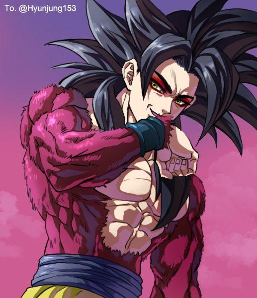 SSJ 4 Goku