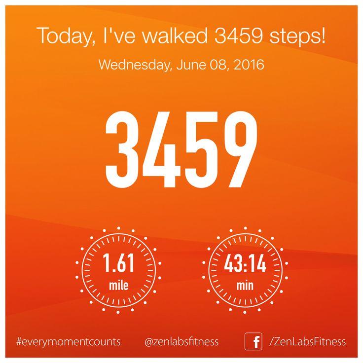 Wednesday, June 08, 2016 - 3459 steps