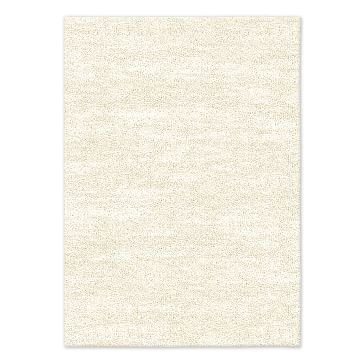 SPO Watercolor Solid Rug, Ivory, 10'x14'