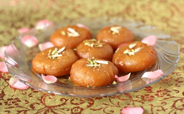 Badusha recipe aka Balushahi is a gem among North Indian sweets made on special days & festivals like Diwali.