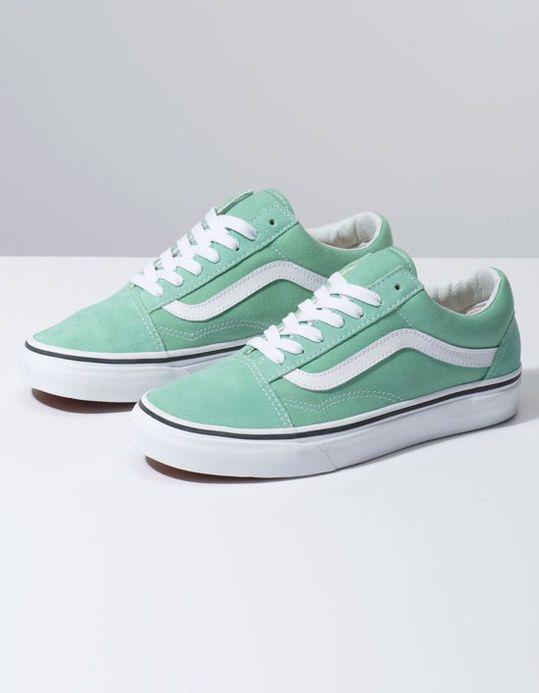 ShoesShit Skool True Vans Neptune Ido Old Womens Greenamp; White eWHE29IDYb