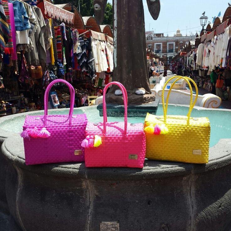 bolsas artesanales ixu ... artesania 100% mexicana