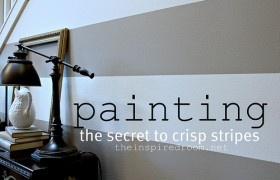 Painting Stripes | Favorite Paint Colors Blog