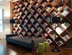 I love bookshelves