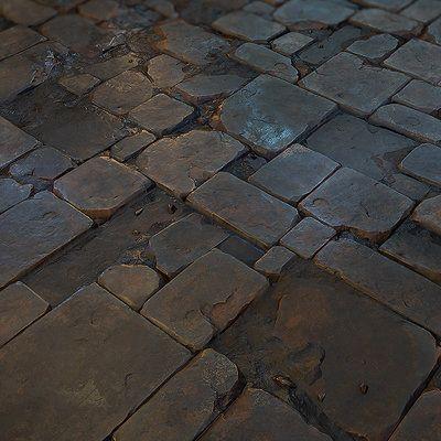 Stone_Floor_tile_03, Jonas Ronnegard on ArtStation at https://www.artstation.com/artwork/stone_floor_tile_03: