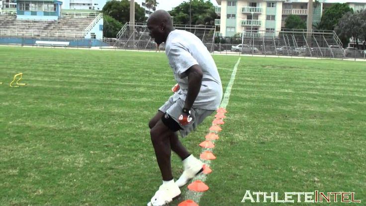 Chad Ochocinco footwork drills - AthleteIntel