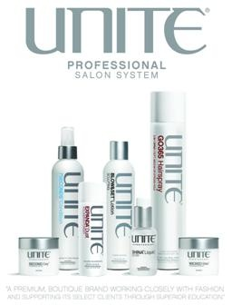 • UNITE is a premium line that is made with only the finest and carefully selected ingredients. Designed for a wide range of hair types, UNITE products are sulphate/paraben free and 100% vegan! From extreme shaping to fabulous hold, the UNITE way of life can give you versatility for any look!