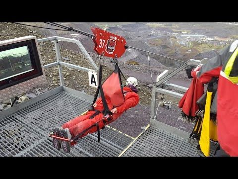 What It's Like To Ride The World's Fastest Zip Line! - YouTube