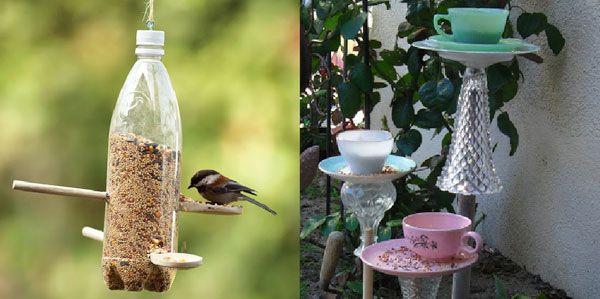 Duurzame vogel voederhuisjes en voederplateaus zelf maken | Duurzaam thuis