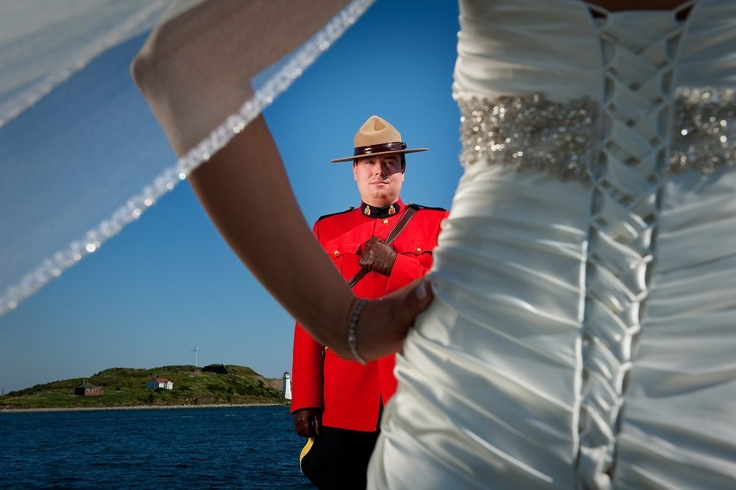 I'm not marrying a Mountie but I'd like a similar photo! - Weddings | Emotive Photography by Rebecca Clarke of Halifax, NS