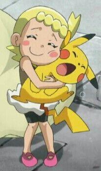 Bonnie and Pikachu