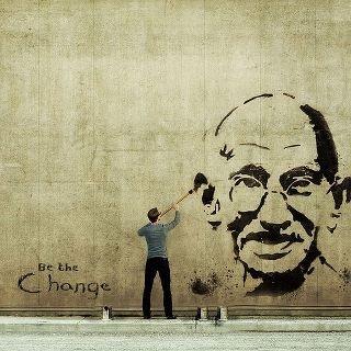 Gandhi -Be the Change