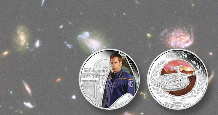 Perth Mint honors Star Trek: Enterprise television series with coins from Tuvalu