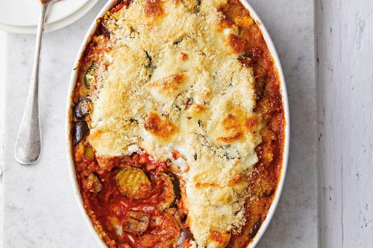 Deze klassieke parmigiana uit de oven maak je nu ook met gegrilde groenten. – recept – Allerhande