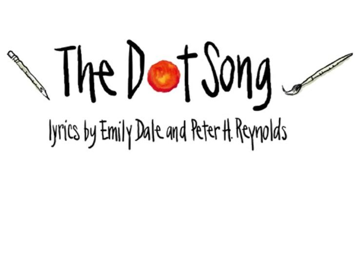 """The Bouncing Dot Official Music Video for The Dot Song. """"The Dot Song"""" is a beautiful melody inspiring bravery and creativity."""