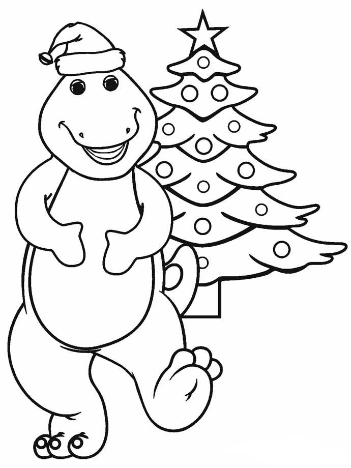 Dinosaur Christmas Coloring Pages Best Coloring Pages For Kids Cartoon Coloring Pages Dinosaur Coloring Pages Christmas Tree Coloring Page