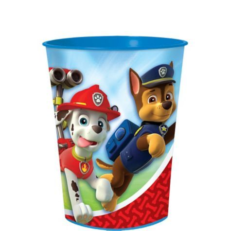 PAW Patrol Plastic Favor Cup 16oz -$1 @ Party City