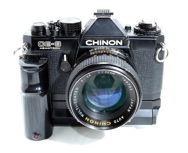 Chinon CE-3. Klopt net niet helemaal: ik had een Chinon CE-2...