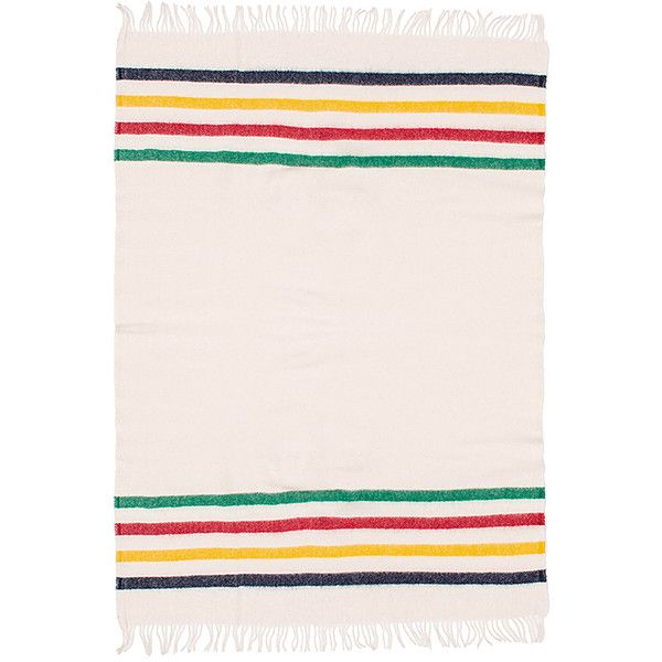 Hudson's Bay Company Multi Caribou Throw (235 CAD) ❤ liked on Polyvore featuring home, bed & bath, bedding, blankets, accessories, wool bedding, hudson bay company blanket, wool throw, wool throw blanket and wool blanket