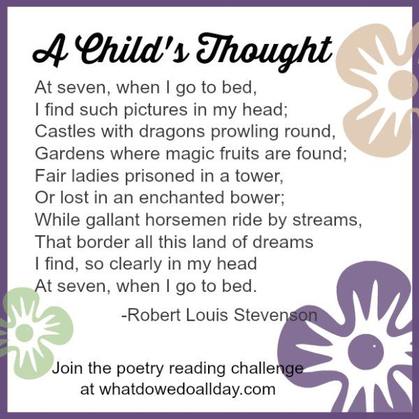 how to teach a child to write a poem