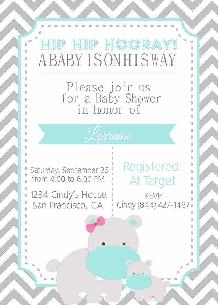 The 25+ best Printable baby shower invitations ideas on Pinterest - free customizable printable baby shower invitations