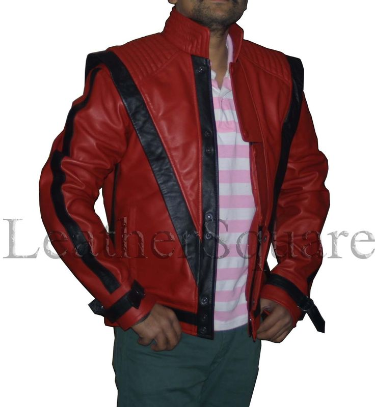 Micheal Jackson Thriller Leather Jacket ALL SIZE AVAILABLE