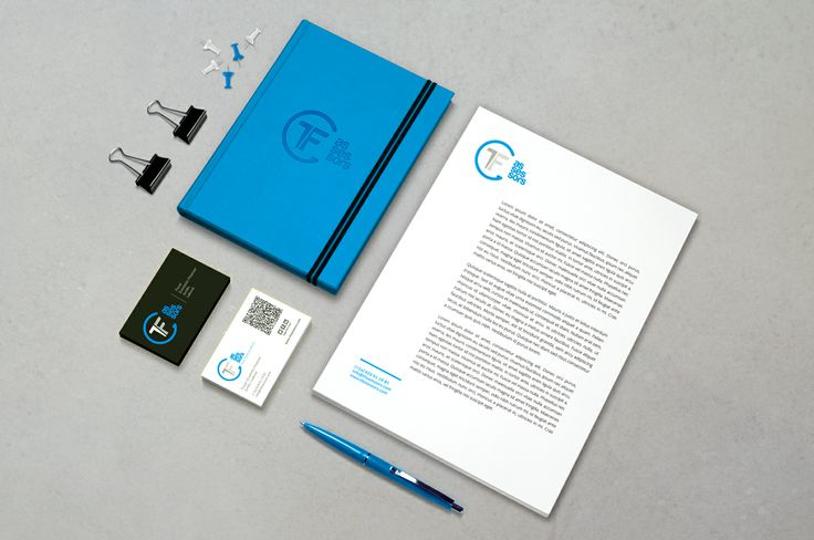 TF Assessors aplicaciones corporativas. #Mock-up #identity #logo